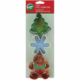 Wilton Holiday Metal Cutter Set of 3