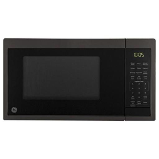 GE Appliances JES1095BMTS Microwave Oven, 0.9 Cu Ft, Black Stainless Steel JES1095BMTS