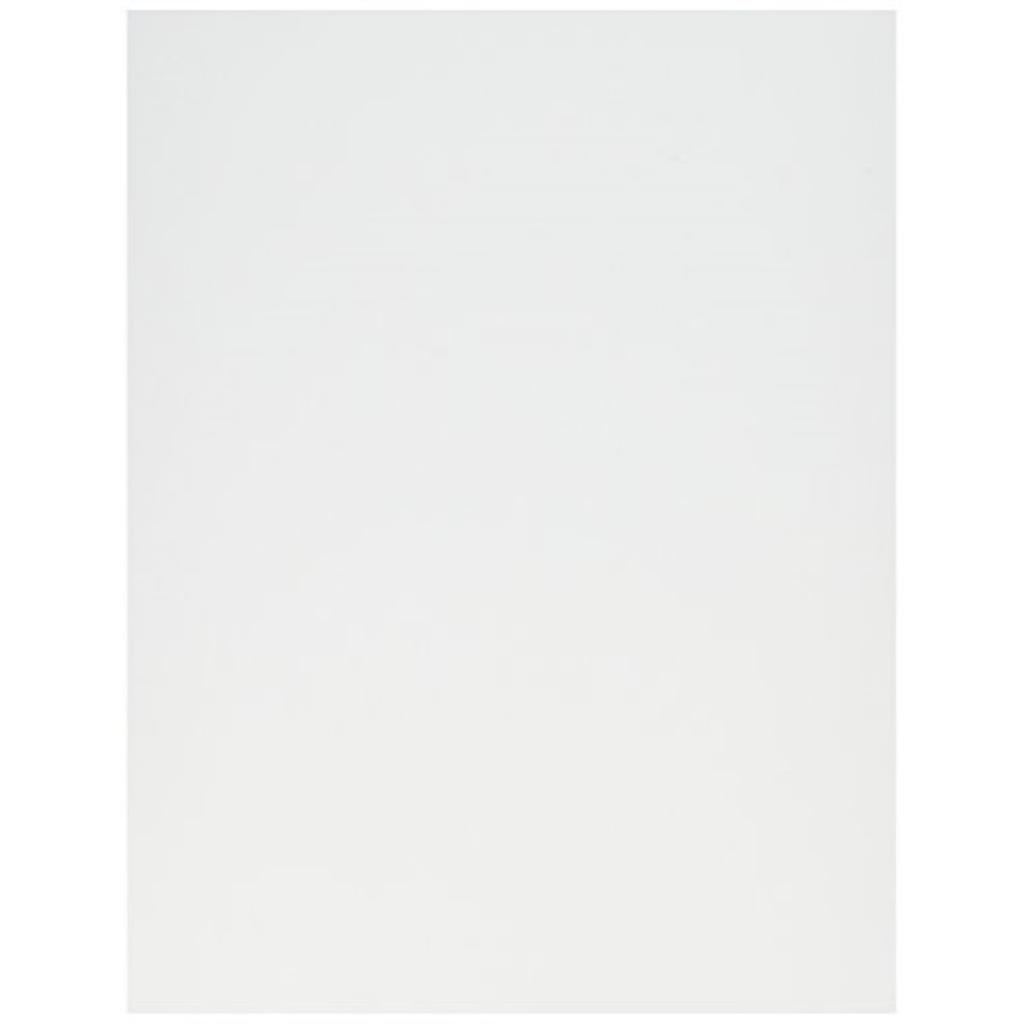 Crafter's Companion Spectrum Noir Ultra Smooth Premium Cardstock, 8.5 by 11-Inch, White, 50-Pack
