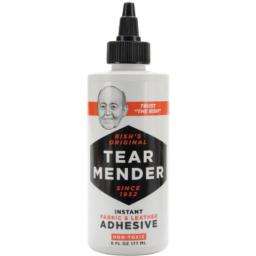 Tear Mender Instant Fabric & Leather Adhesive-6oz