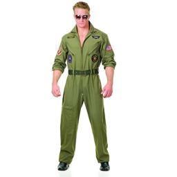 Charades Men's Plus Size Wing Man, Olive, 3X