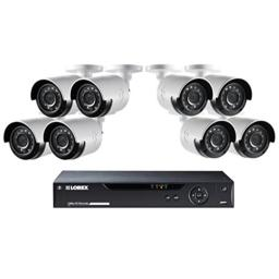 Lorex HD 16 Channel Security DVR System & 8-1080p HD Cameras & 2TB HDD #LHV1628