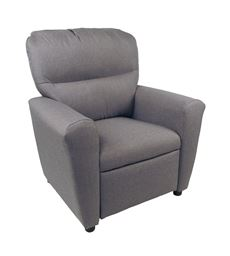 Dozydotes Contemporary  Tween Recliner in Ash