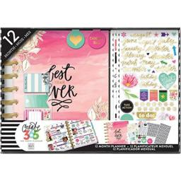 me & my BIG ideas BOX-109 Create 365 The Happy Planner Box Kit 12 Month Undated, Best Year Ever Classic