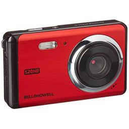 "Bell+Howell 20 Megapixels Digital Camera with 1080p Full HD Video with 3"" LCD, Red (S20HD-R)"