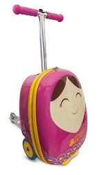 ZincFlyte Kid's Luggage Scooter 18 - Betty