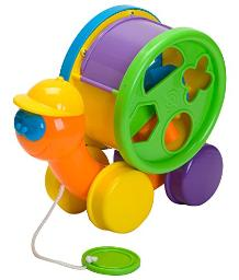 Fun Time Toby The Turtle Activity Toy