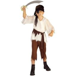 Haunted House Children's Costumes Pirate Boy - Child's Large