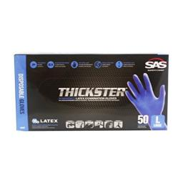 Thickster Exam Grade Latex Gloves -Large by SAS