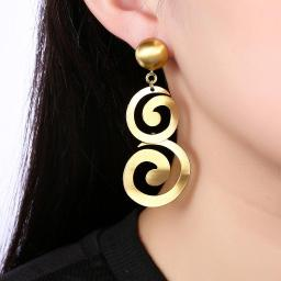 Alzira Drop Earring in 18K Gold Plated