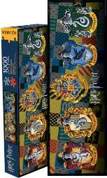 Aquarius Harry Potter Crests Slim 1000 Piece Jigsaw Puzzle