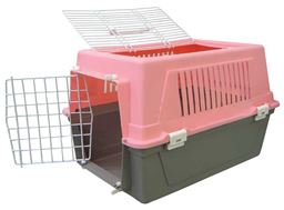 YML Pet Kennel Travel Carrier - Pink