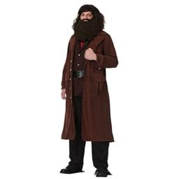 Charades Deluxe Hagrid Adult Costume Large Brown
