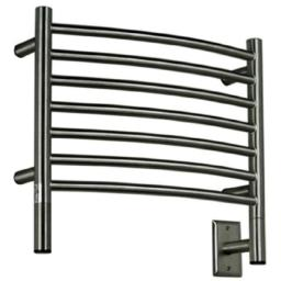 Amba HCB-20 20-1/2-Inch x 18-Inch Curved Towel Warmer, Brushed