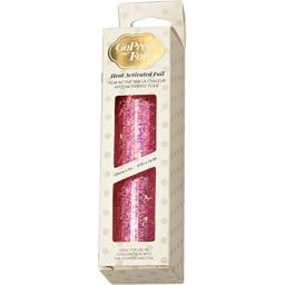 """Artdeco Creations CO726048 5"""" x 16.4' Iridescent Flakes Couture Foil, Pink"""