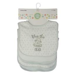 Little Me Little Me 5 Pack Infant Bibs, Bless This Child, 0-12 Months