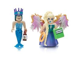 Roblox Celebrity Collection- Neverland Lagoon: Crown Collector and Royale High School: Enchantress (Two Figure Pack)