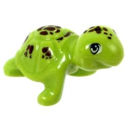 LEGO Animals Green Sea Turtle with Brown Spots [Loose]