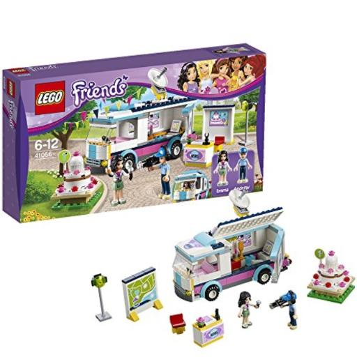 LEGO Friends Set #41056 Heartlake News Van bHelp Emma and Andrew broadcast the breaking stories!