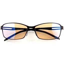 Arozzi Visione VX-400 Computer gaming glasses - Anti-glare, UV and Blue light protection, Eye strain relief, Comfortable gaming