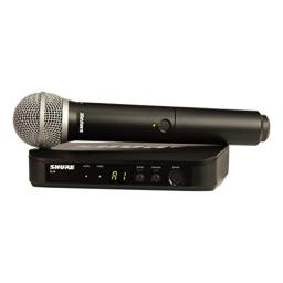 Shure BLX24/PG58 Wireless Vocal System with PG58 Handheld Microphone, H8