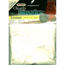 Beadery Clearly Mosaics Grout 170g-Ivory
