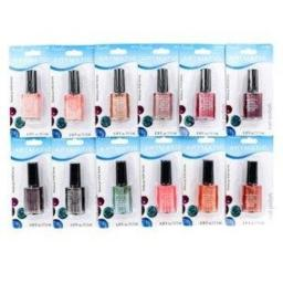Artmatic/mega Reflect Nail Polish 72 Pcs Assorted Colors .39 Oz Ea (11.5 Ml) 0.39 Oz Nail Polish 0.39 OZ