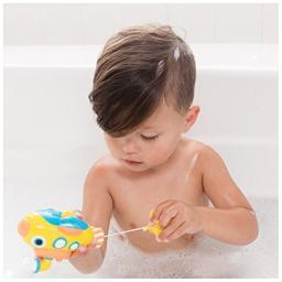 Nuby Little Submarine Pull String Bath Toy, 6 Month Plus, Yellow