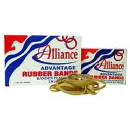 Alliance Rubber Company Rubber Bands Size 30 1lb 2X1/8 Natural 26305 by Alliance