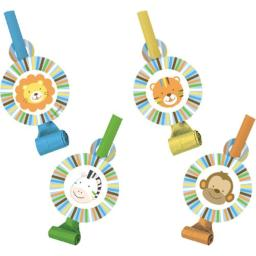 Creative Converting Sweet at One Boys Birthday Party Blowouts, 8 Count