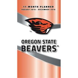 "Turner Oregon State Beavers 17 Month Planner, August 2015 - December 2016, 3.5 x 5"" (8890517)"