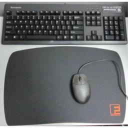"Portable 17"" Smooth Hard Surface Gamer Mouse Pad"