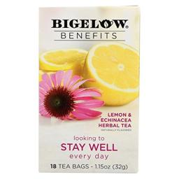 TEA, LEMN ECHINA, STAY WELL , Pack of 6
