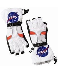 Jr Astronaut Space Gloves Costume Accessory Child Size Large