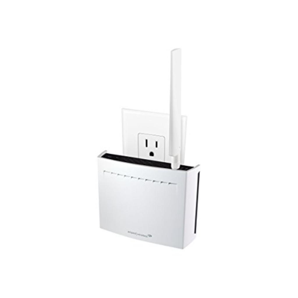 Amped REC33A Wireless High Power Plug-in AC1750 Wi-Fi Range Extender