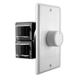 OSD Audio 100W In-Wall Home Theater Speaker Volume Control - Knob Style - SVC100