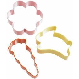Wilton Set of 3 Easter Cookie Cutter Set