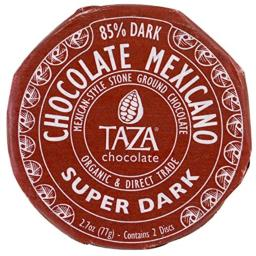 Taza Chocolate, Chocolate Mexicano, Super Dark, 2 Discs, Pack of 3