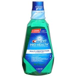 Crest Pro-Health Multiprotection Rinse, Cool Wintergreen - 33.8 oz - 2 pk