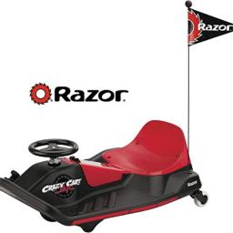 Razor Crazy Cart Shift, Black