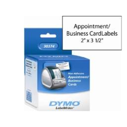 Dymo 30374 appointment/business card