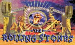 C&D Visionary Licenses Products Rolling Stones Stage Sticker