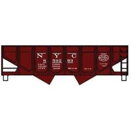 accurail-acu28011-ho-kit-55-ton-panel-side-twin-hopper-nyc-fb03167f92c4c24d