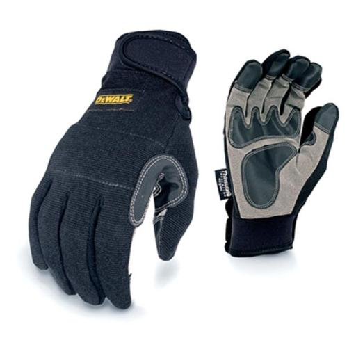 Radians 246798 General Utility Synthetic Leather Palm Work Glove, Medium