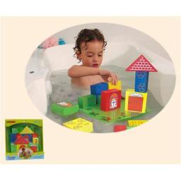EduShape 545300 Floating Blocks Baby Bath Toy