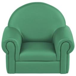 Early Childhood Resources ELR-15654-EM Soft Zone Little Lux Toddler Chair, Emerald