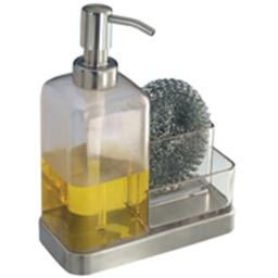 Inter-Design 67080 Soap Dish And Sponge Caddy