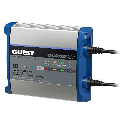 Guest on-board battery charger 10a 12v 1 bank 120v 2710a