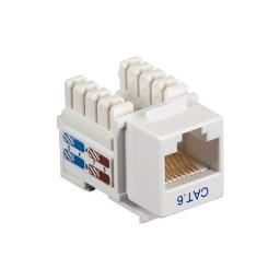 Black Box Network Services Cat6j-wh Connect Cat5e Rj-45 Keystone Jack