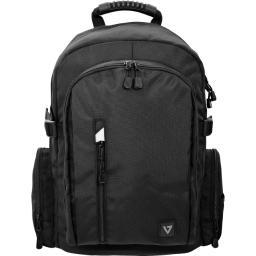 V7 notebook carrying cases cbe17-blk-9n 17in elite backpack